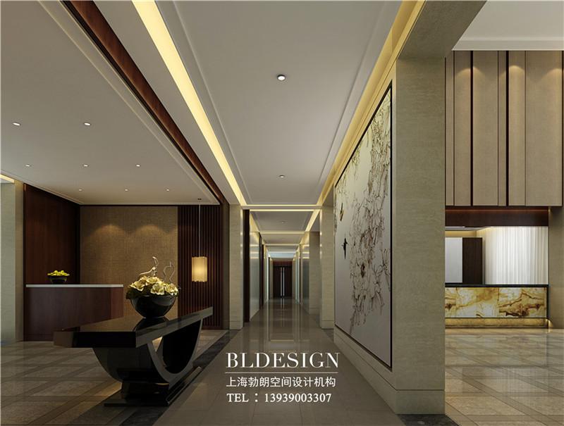 洛阳大河古渡生态度假酒店接待处设计