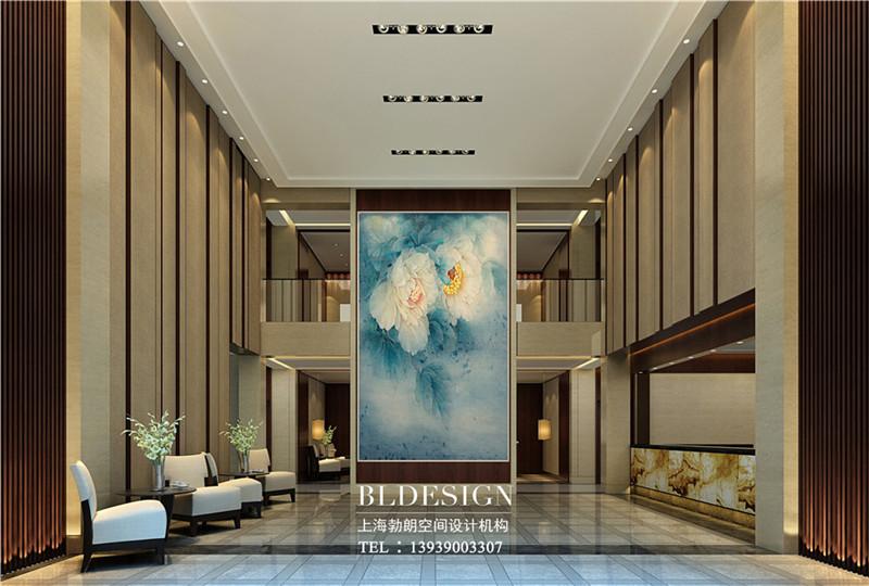 洛阳大河古渡生态度假酒店大堂设计