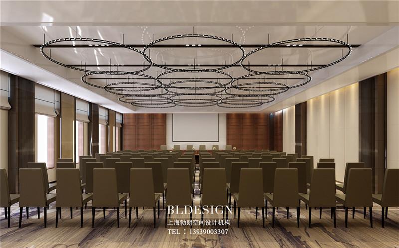 洛阳大河古渡生态度假酒店会议厅设计
