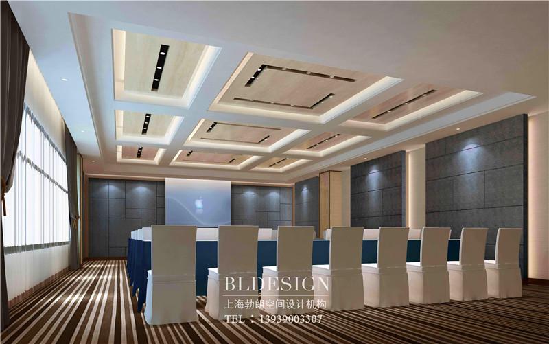 河南万盛商务酒店多功能厅设计