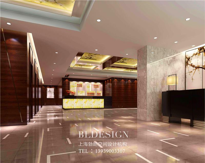 河南万盛商务酒店大厅设计