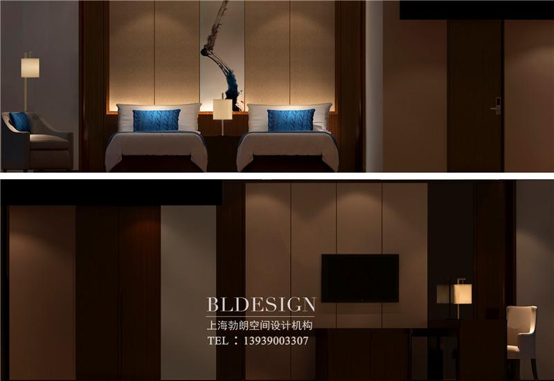 三门峡紫金宫酒店客房设计案例