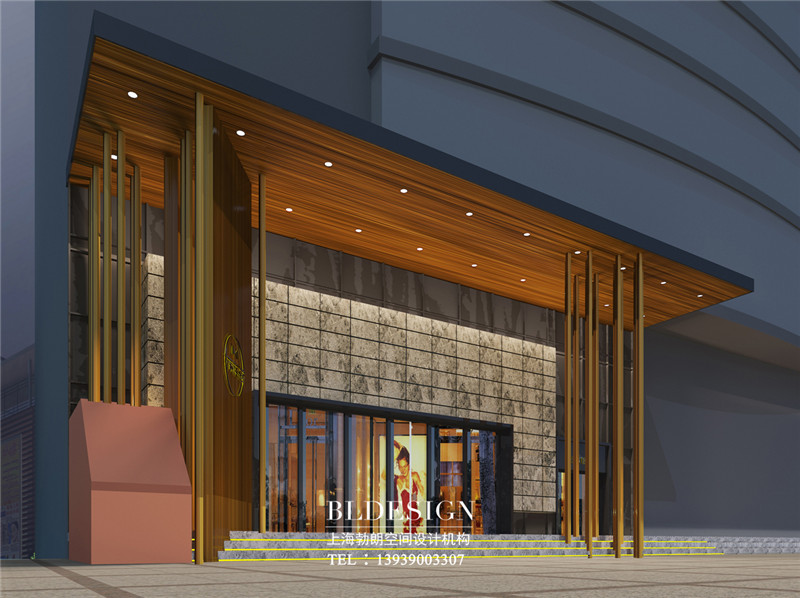 项城德银三星酒店门头设计方案
