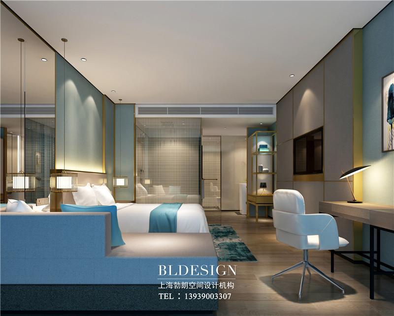 项城德银三星酒店客房装修设计效果图