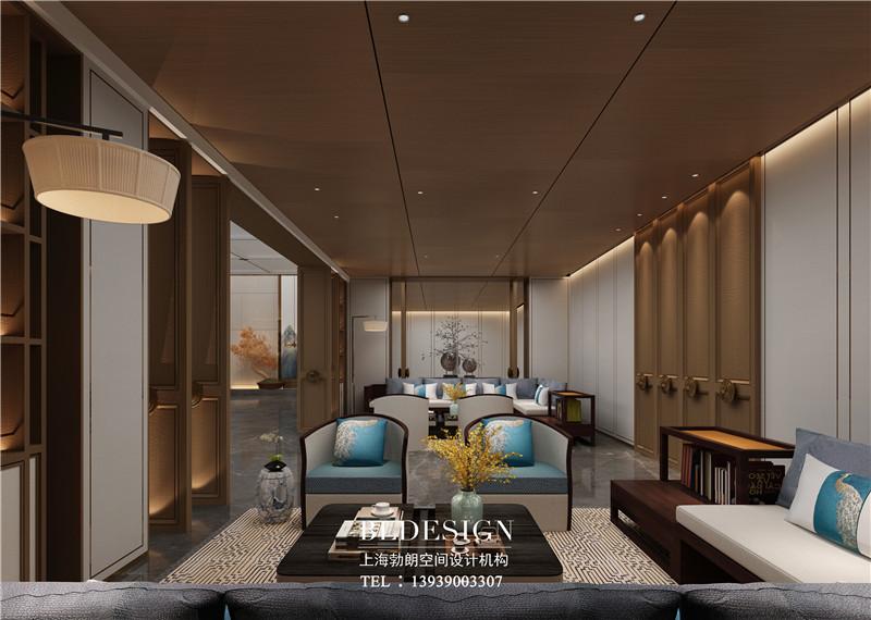 德银精品商务酒店中式主题客房装修设计图