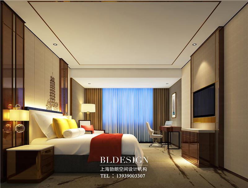 大河锦江四星级酒店客房改造设计效果图