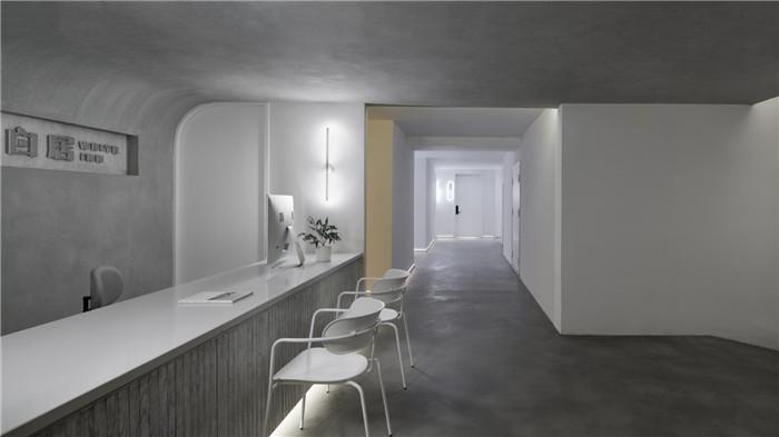 郑州勃朗设计分享简约朴质的白居精品酒店设计方案