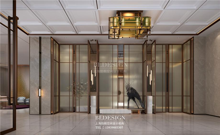 安阳酒店设计-林州望山精品商务酒店大堂设计案例效果图.jpg