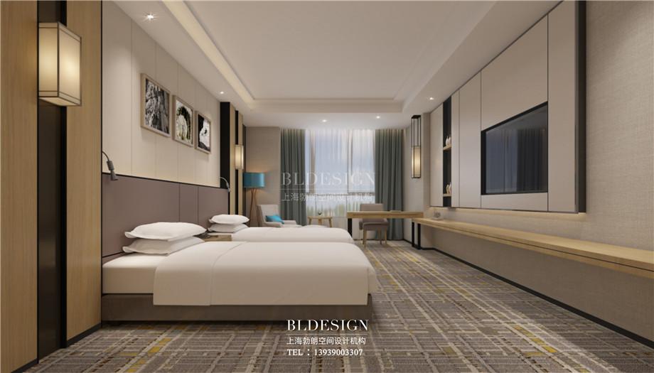 安阳酒店设计-林州望山精品商务酒店标准客房设计案例效果图.jpg