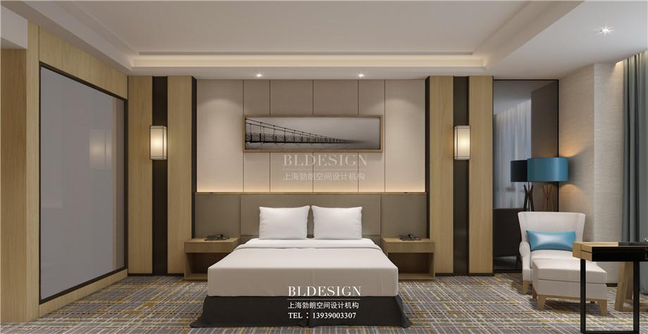 安阳酒店设计-林州望山精品商务酒店大床房设计案例效果图.jpg
