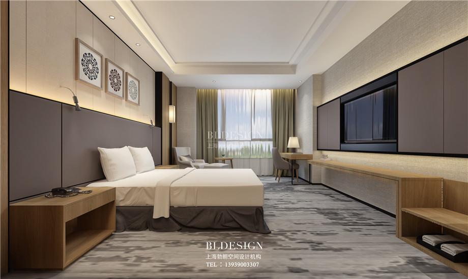 河南安阳曙光精品商务酒店客房装修设计方案效果图