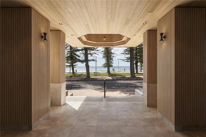 环保自然的北欧风悉尼塞贝尔酒店入口改造设计方案