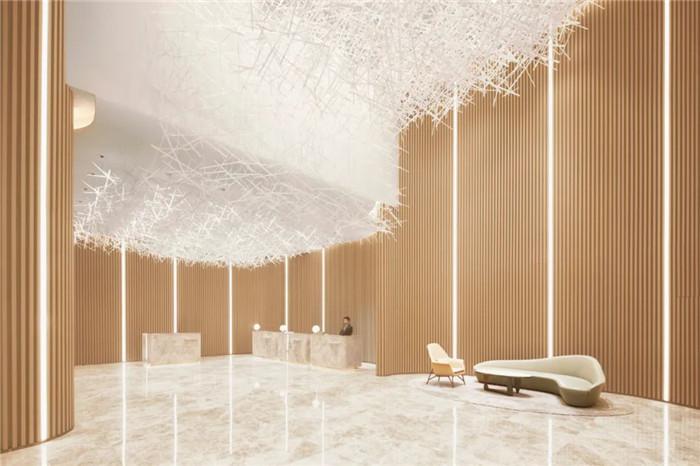 深圳云著精品商务酒店大厅接待台设计  探索商旅酒店设计新方式