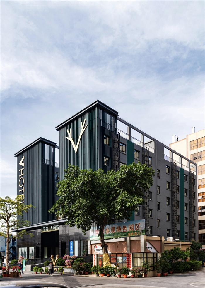 专业酒店改造设计公司推荐广州欣凯辉悦酒店外观设计图