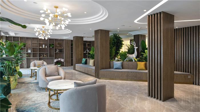专业酒店改造设计公司推荐广州欣凯辉悦酒店大堂吧设计图