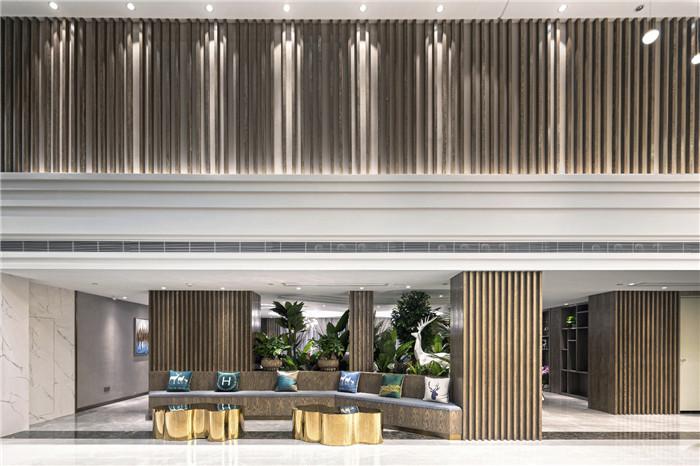 专业酒店改造设计公司推荐广州欣凯辉悦酒店大堂设计图