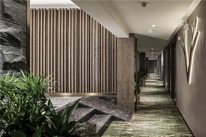 专业酒店改造设计公司推荐广州欣凯辉悦酒店走廊设计图