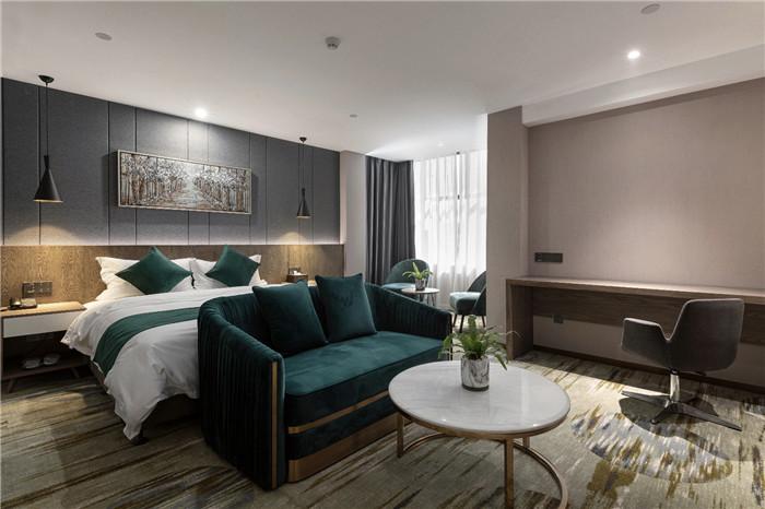 专业酒店改造设计公司推荐广州欣凯辉悦酒店客房设计图