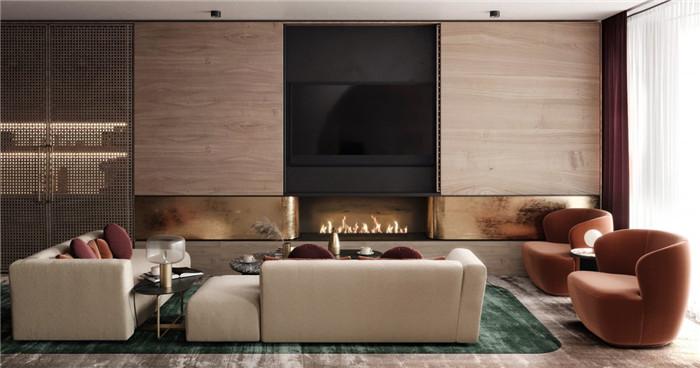 勃朗酒店设计公司推荐国外轻奢风豪斯酒店休闲区设计
