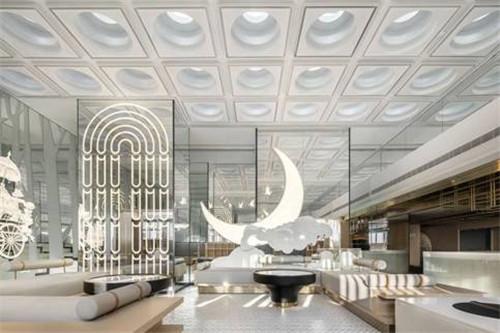 重庆最新精品商务酒店设计推荐:半云半月酒店设计