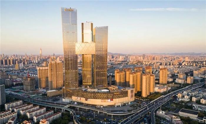 知名酒店设计公司杨邦胜新作:南京金鹰G酒店外观设计