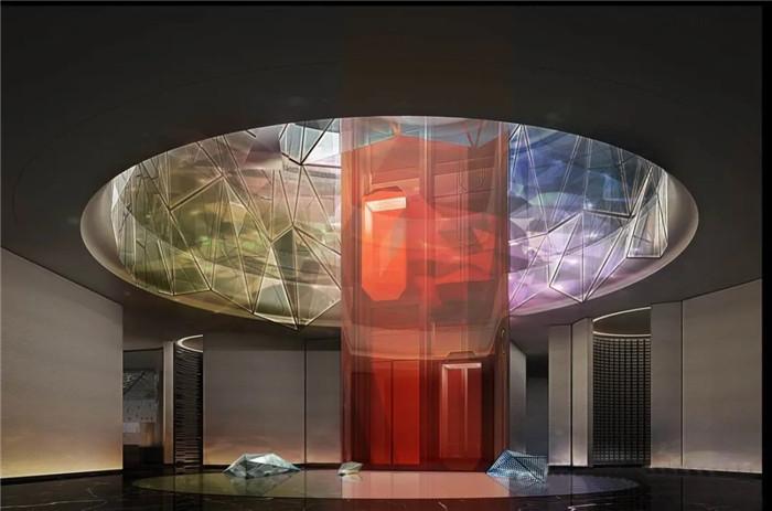 知名酒店设计公司杨邦胜新作:南京金鹰G酒店大堂设计