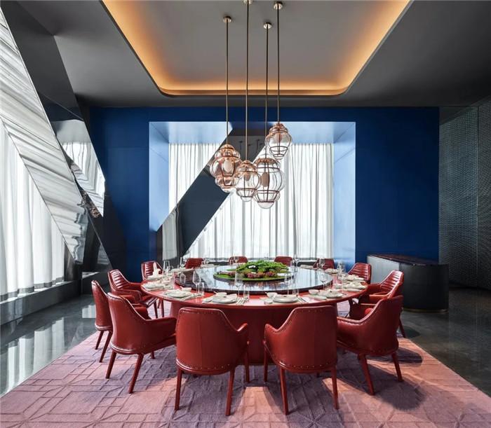 知名酒店设计公司杨邦胜新作:南京金鹰G酒店中餐厅包房设计