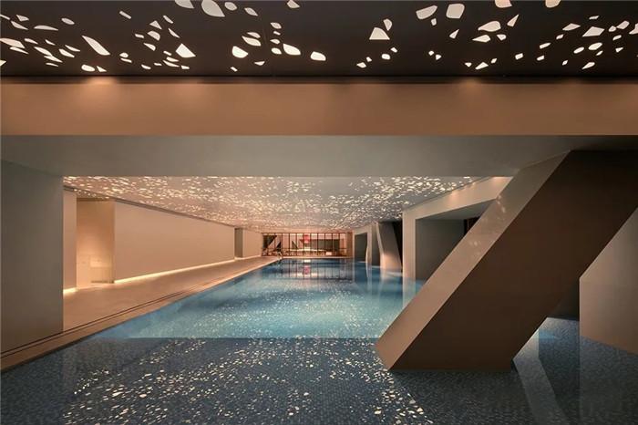 知名酒店设计公司杨邦胜新作:南京金鹰G酒店泳池设计方案