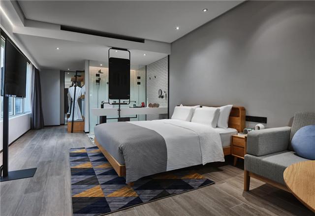 万达+京东联手打造宁波万达美华跨界IP酒店客房设计