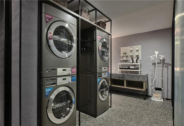 万达+京东联手打造宁波万达美华跨界IP酒店客房层洗衣房设计