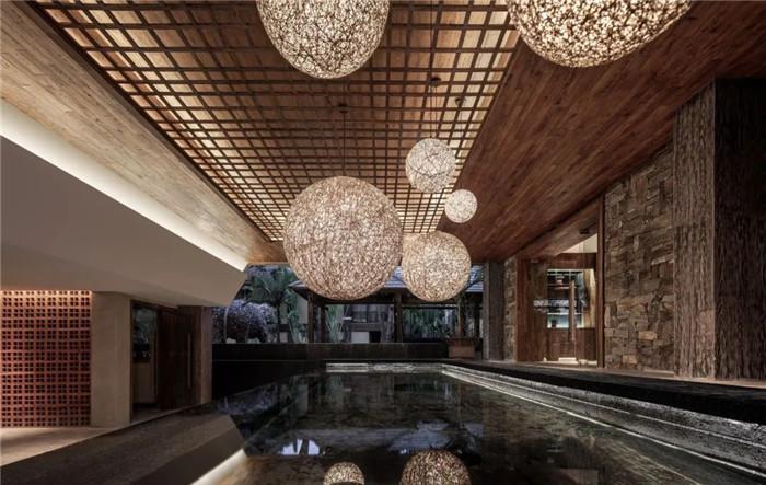 云南景洪森氧villa东南亚风度假酒店室内设计方案