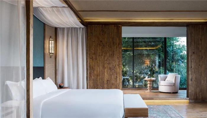 云南景洪森氧villa东南亚风度假酒店大床房设计方案