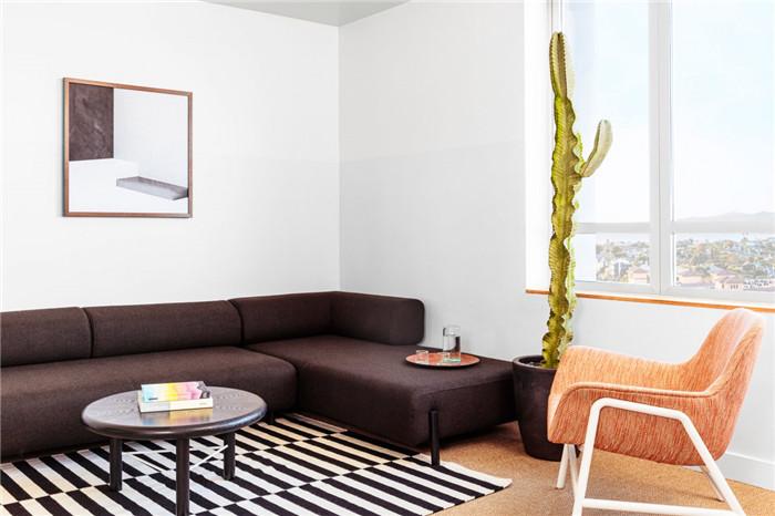 郑州勃朗设计分享简约自然风城市度假酒店客房设计方案