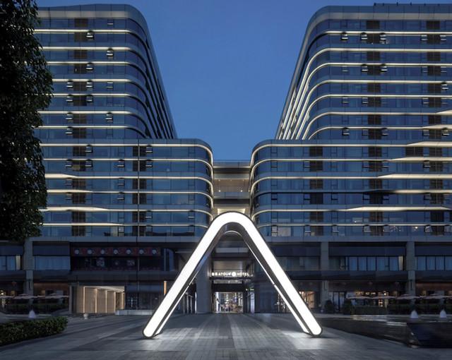 亚朵首家新知社区中心酒店——爱琴海亚朵S酒店设计