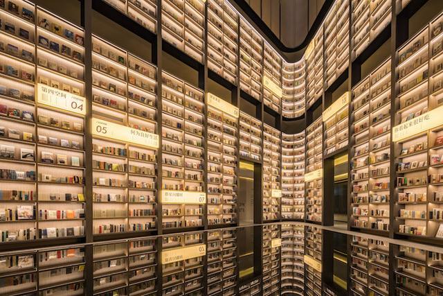 亚朵首家新知社区中心酒店——爱琴海亚朵S酒店书店设计