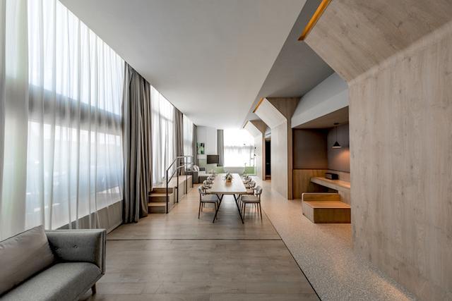 亚朵首家新知社区中心酒店——爱琴海亚朵S酒店餐厅设计