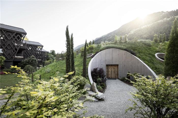 城市郊游目的地   意大利小镇休闲度假酒店景观设计方案