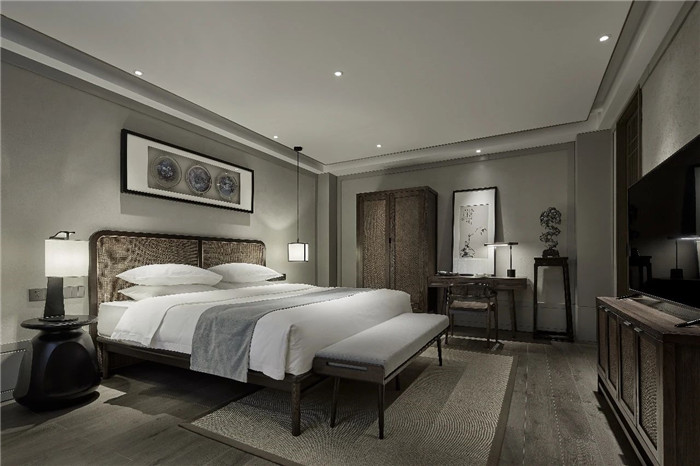 中式民宿设计  河南禹州钧瓷文化主题民宿客房设计方案