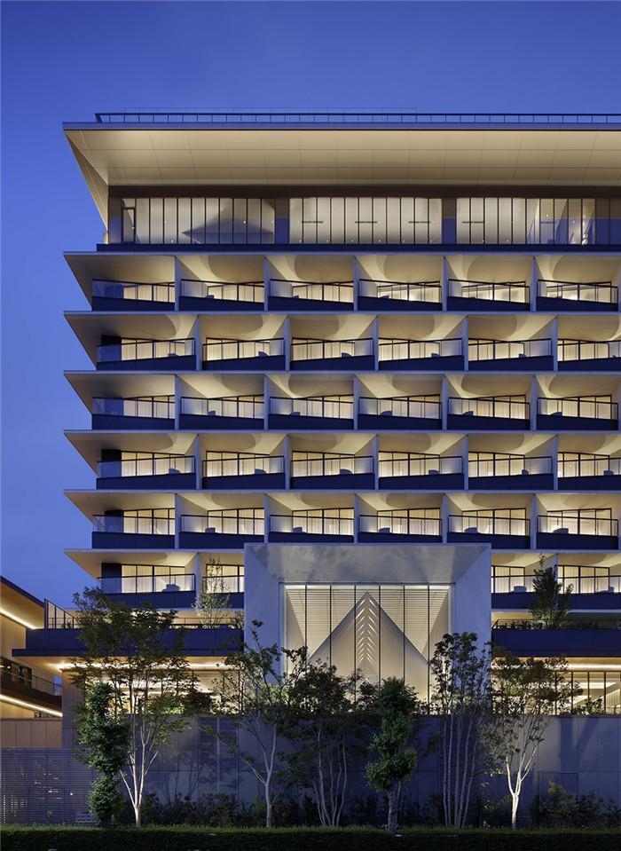 现代日式酒店设计   东京Sorano度假酒店外观设计赏析