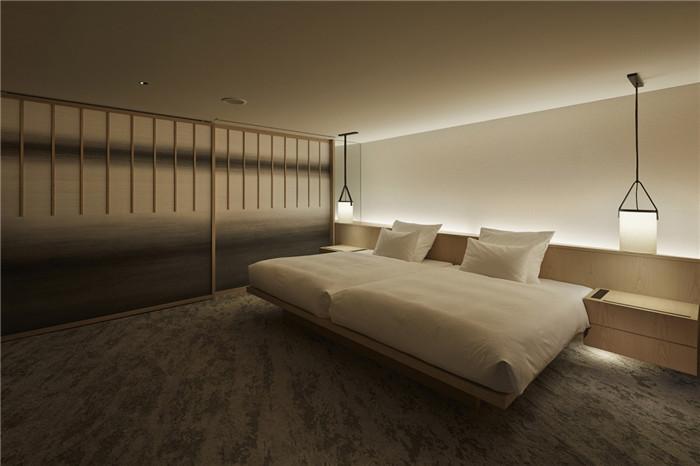 现代日式酒店设计   东京Sorano度假酒店客房设计赏析