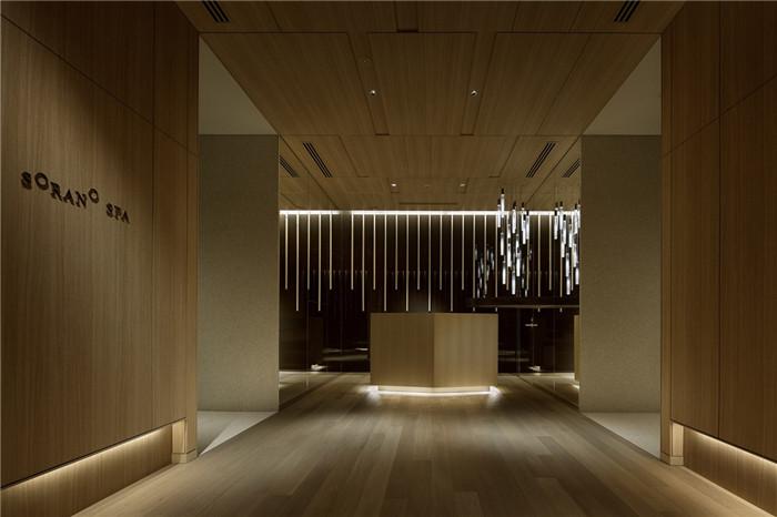 现代日式酒店设计   东京Sorano度假酒店SPA设计赏析