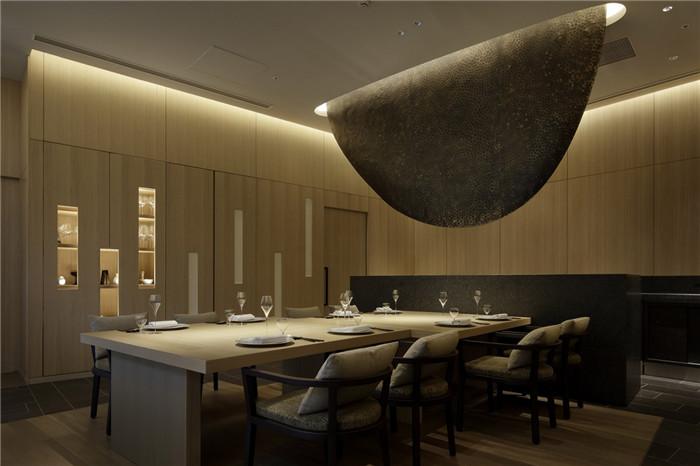 现代日式酒店设计   东京Sorano度假酒店餐厅设计赏析