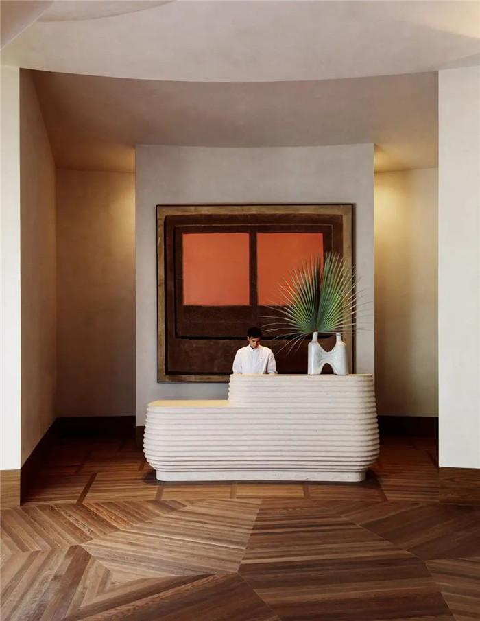 轻奢异国情调Proper精品度假酒店前台改造设计方案