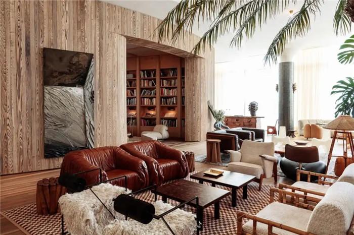 轻奢异国情调Proper精品度假酒店大堂改造设计方案