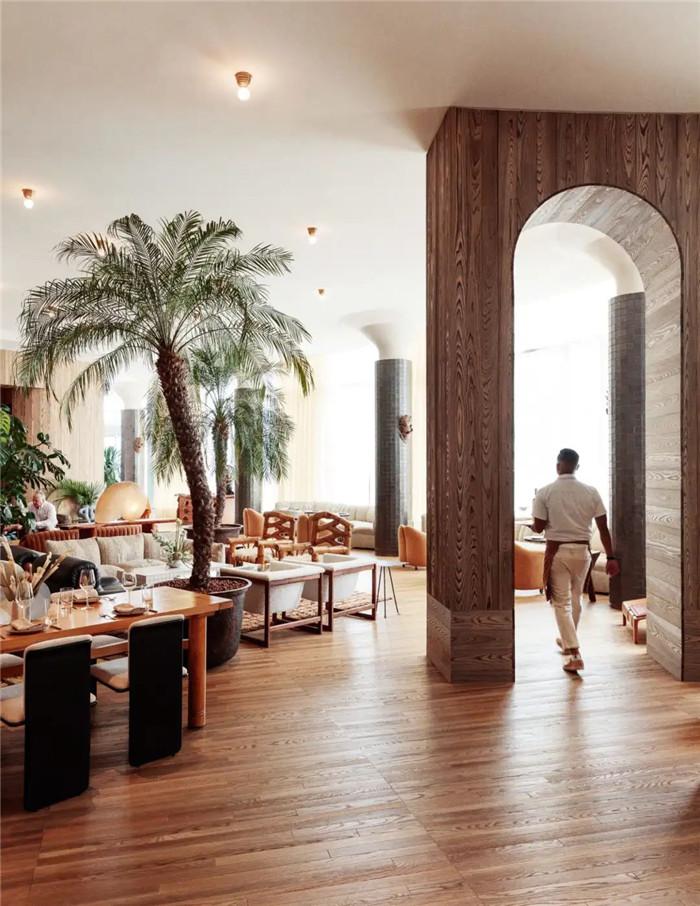 轻奢异国情调Proper精品度假酒店餐厅改造设计方案