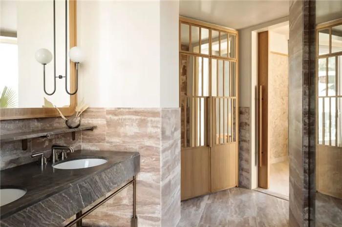 轻奢异国情调Proper精品度假酒店客房卫生间改造设计方案
