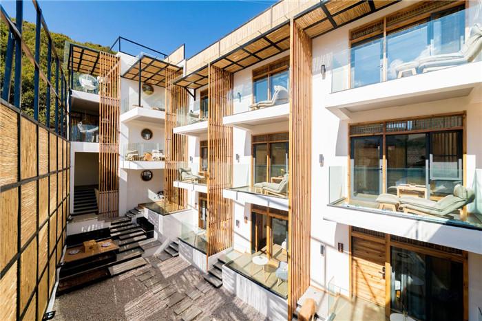 自建房民宿设计   泸沽湖叙旧民宿酒店建筑外观设计方案