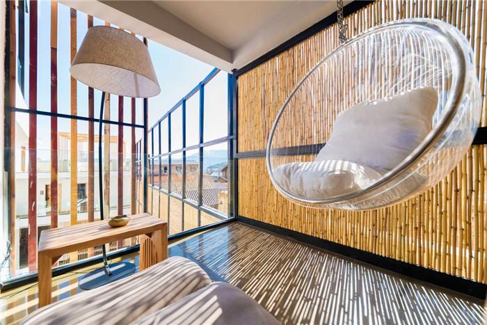 自建房民宿设计   泸沽湖叙旧民宿酒店景观客房设计方案
