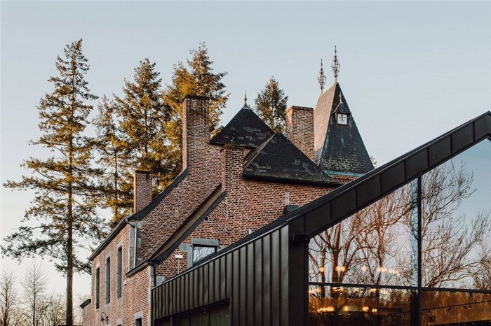 国外高端精品酒店设计推荐:Vignée庄园酒店外观设计