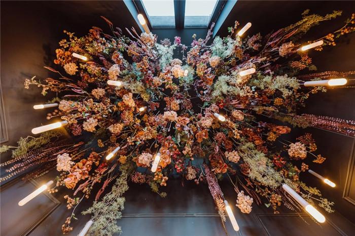 国外高端精品酒店设计推荐:Vignée庄园酒店软装花艺设计